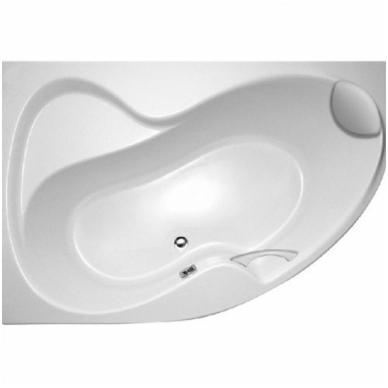 Ravak Rosa II akrilinė, asimetrinė vonia, balta 3