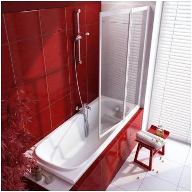 Ravak Vanda II akrilinė vonia, 150;160;170 x 70, balta