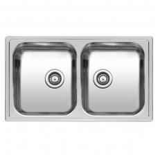 Reginox Diplomat 20 virtuvinė plautuvė, 86 x 50 cm, nerūdijančio plieno