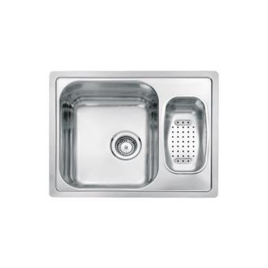Reginox Admiral R60 virtuvinė plautuvė, 61.5 x 49 cm, nerūdijančio plieno