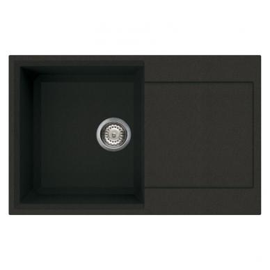 Reginox Parma 300 virtuvinė akmens masės plautuvė, 79 x 50 cm