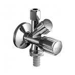 "Schell kombinuotas kampinis ventilis, 1/2"" x 3/8"", d-10mm, ir 3/4"""