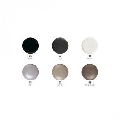 Scarabeo Glam labai mažas pastatomas praustuvas, 22,5 x 22,5 cm, baltas 3
