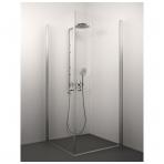 Stikla Serviss Amelia dušo kabina, stiklas skaidrus, profilis blizgus