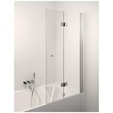 Stikla Serviss Bella vonios sienelė, stiklas skaidrus, profilis blizgus
