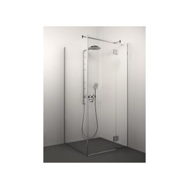 Stikla Serviss Veronica dušo kabina, profilis blizgus, stiklas skaidrus