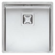 Reginox Texas L virtuvinė plautuvė, 44 x 44, nerūdijančio plieno