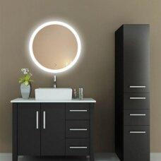 Vanita & Casa Luna veidrodis su apšvietimu LED, d=600 mm