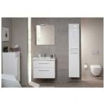 Villeroy & Boch 2Day2 praustuvo, spintelės ir veidrodžio komplektas, 60 x 47 cm