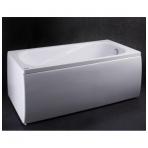 Vispool Classica akmens masės vonia, 170 x 75 cm, su sifonu, balta