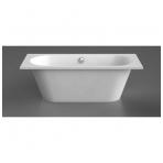 Vispool Evento 1 akmens masės vonia, 175 x 75 cm,su sifonu, balta