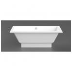 Vispool Nordica akmens masės vonia, 160 x 75, balta