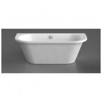 Vispool Onda akmens masės vonia,175 x 76, balta