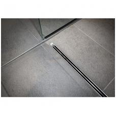 Viega Advantix Vario dušo latakas, 300 - 1200 mm, matinės grotelės