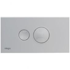 Viega Style 10 dvigubas WC nuleidimo mygtukas, baltas