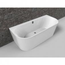 Villeroy & Boch Oberon 2.0 vonia glaudžiama prie sienos 180x80 сm, balta su panele