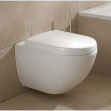 Villeroy & Boch SUBWAY pakabinamas WC puodas+ SUBWAY lėtai nusileidžiantis dangtis