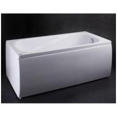 Vispool Classica akmens masės vonia, 180 x 75 cm, su sifonu, balta