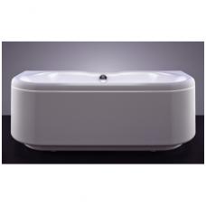 Vispool Londra akmens masės vonia, 170 x 76,5 cm, balta