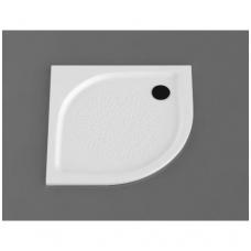 Vispool RZ-90 akmens masės dušo padėklas, 90 x 90 cm, baltas