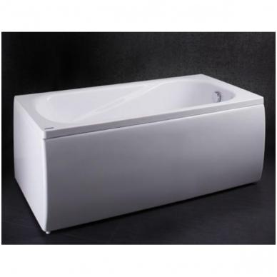 Vispool Classica akmens masės vonia, 150 x 75 cm, su sifonu, balta