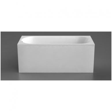Vispool Viana akmens masės vonia, 160 x 72 cm, balta
